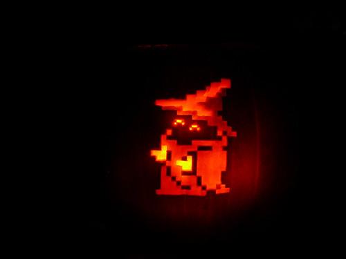 Black Mage Lantern 1 The Jack O Lantern I Carved For