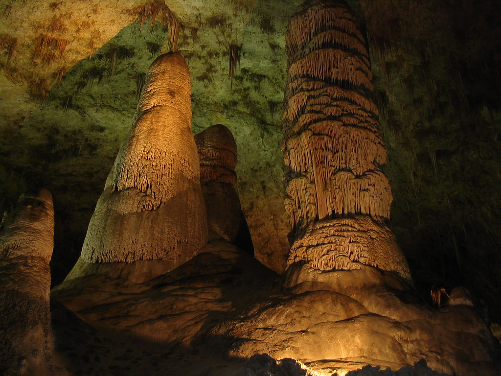 Hall of Giants Carlsbad Caverns National Park Near Carls