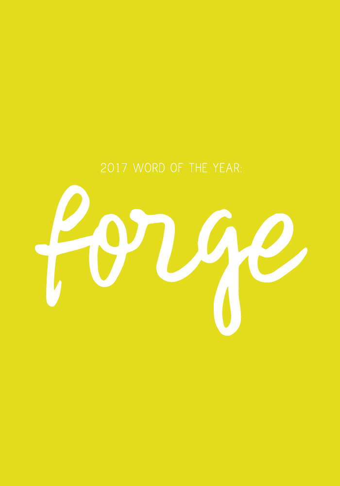 2017 word of the year forge