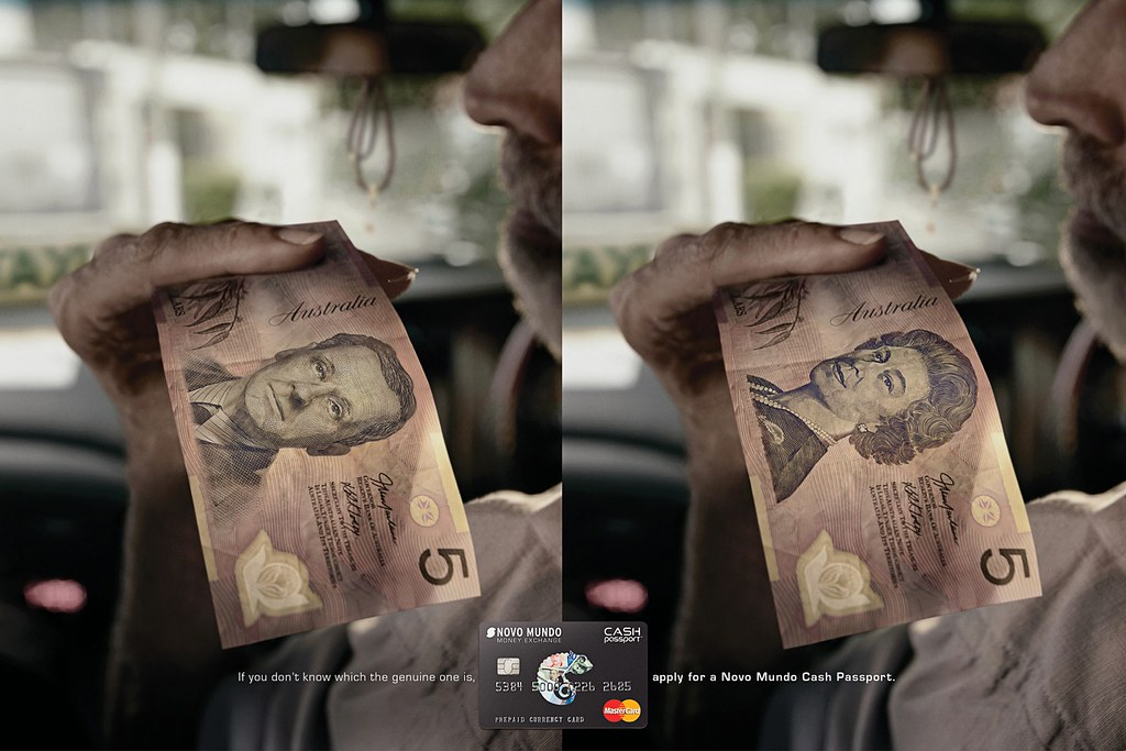 Novo Mundo Cash Passport - Australia