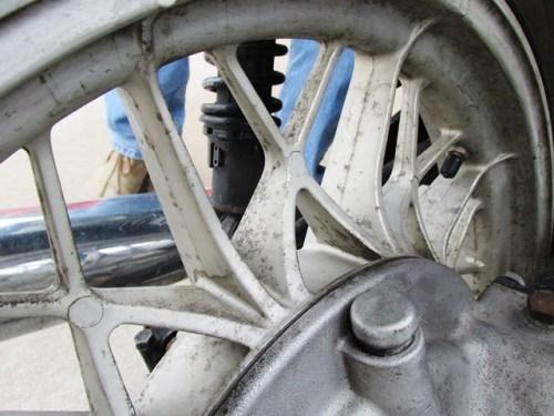 Rear Wheel Corrosion