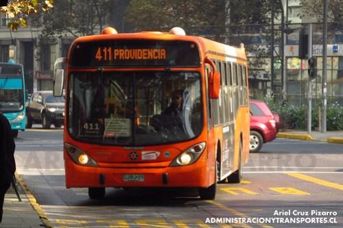 Transantiago - Express de Santiago Uno - Marcopolo Gran Viale / Volvo (CJRJ25)