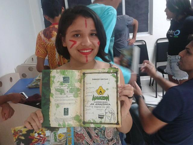 Grupo de educação ambiental, Guerreiros da Amazônia lança fanpage e blog, Juruti, fanpage