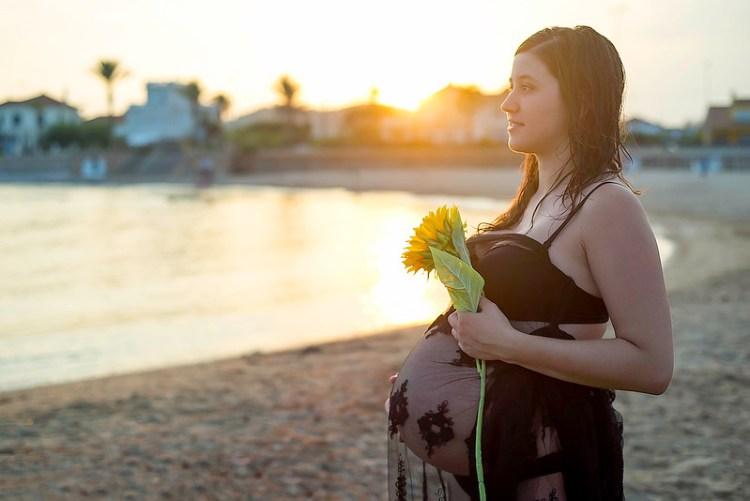 Rocio Ponce Fotografía de Embarazo en Barcelona