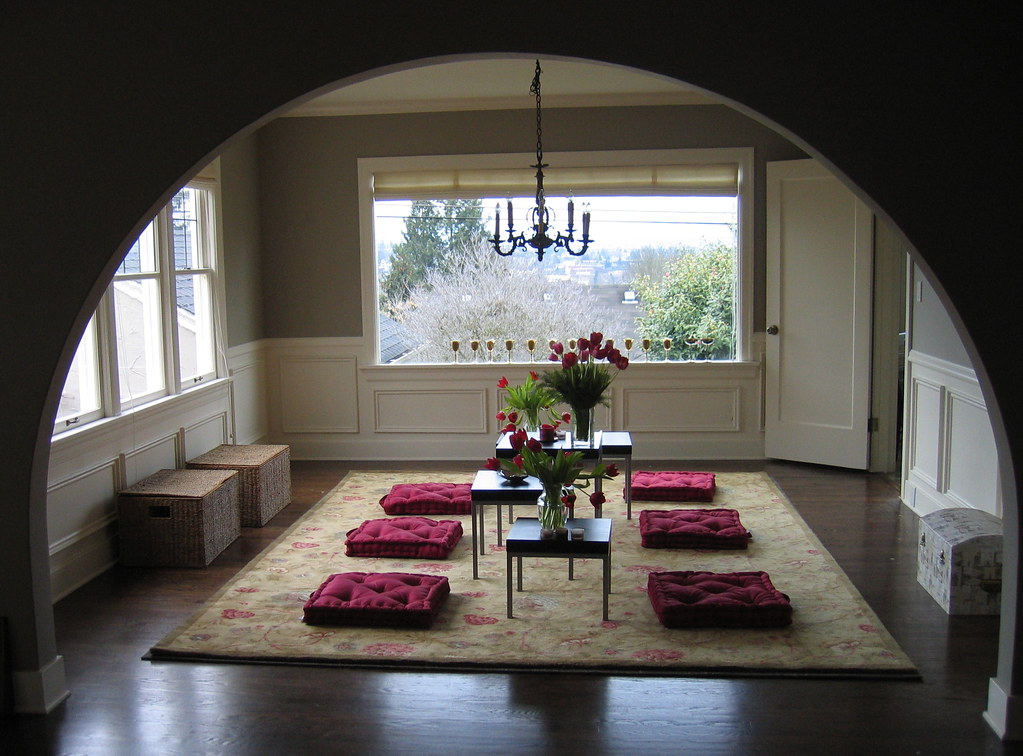 My Dining Room Transitional Phase Floor Seating Flickr