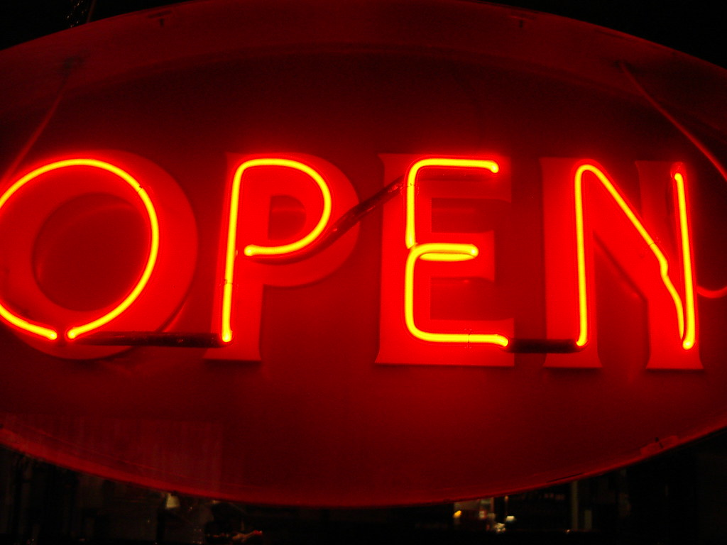 Open Sign  Andy Wright  Flickr