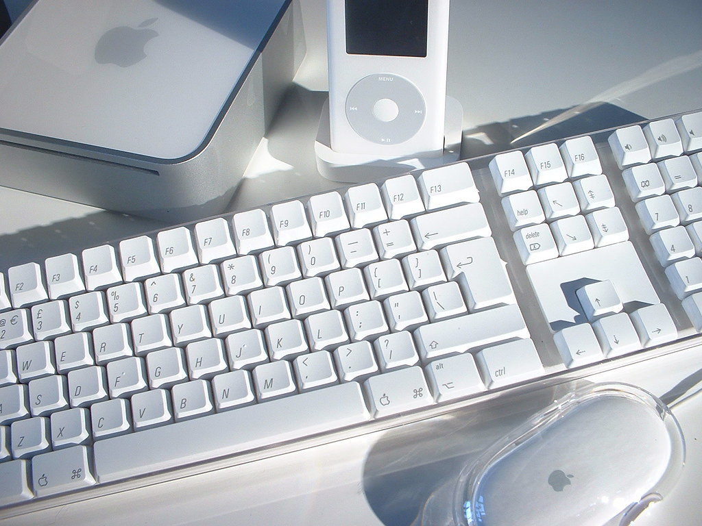 Mac mini Apple Keyboard  Mouse plus iPod  Did you know  Flickr