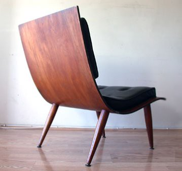 Bent Plywood Lounge Chair back  cgiebaycomws