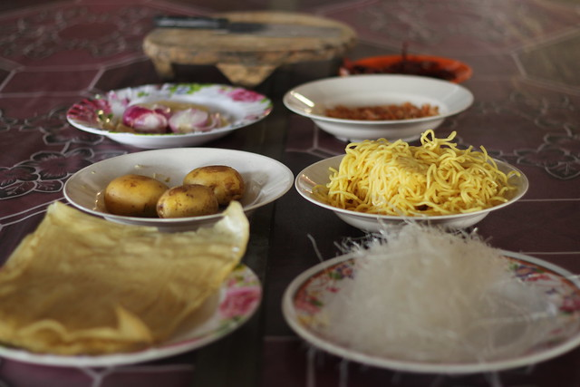 Cooking Nasi Ambeng