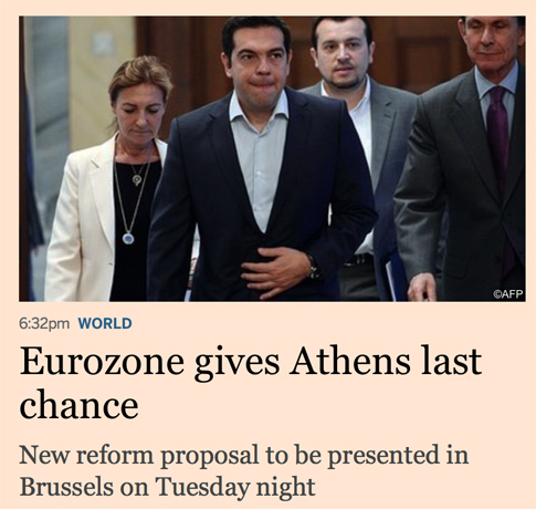 15g06 FT Europa da a Atenas una última oportunidad