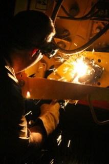 Some moonlighting welding work.