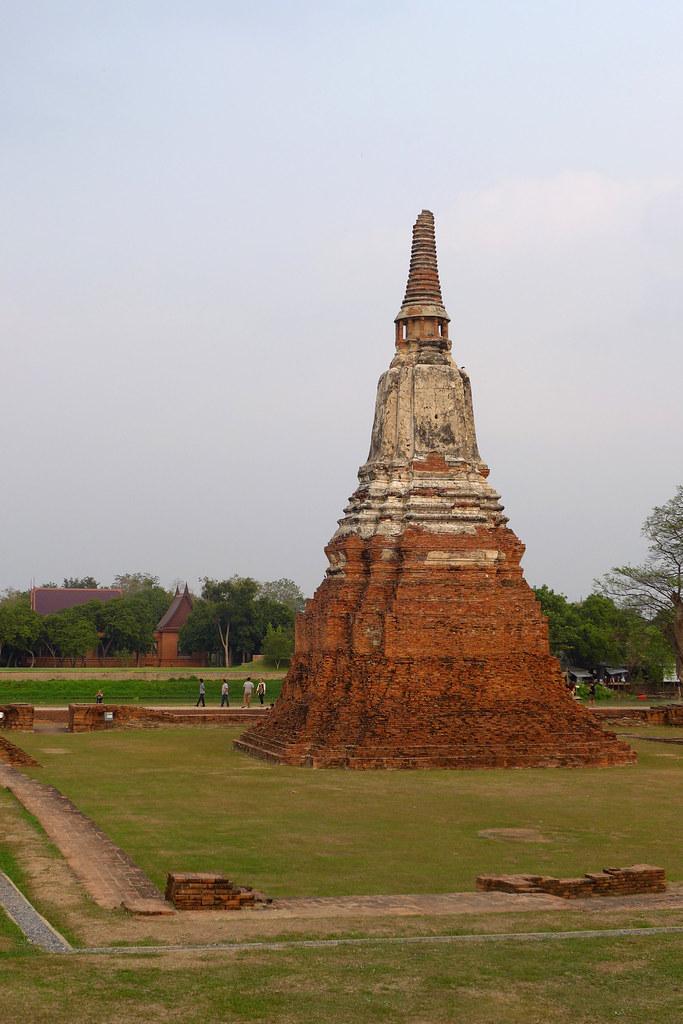 Thaïlande - Ayutthaya - 160 - Wat Chaiwatthanaram