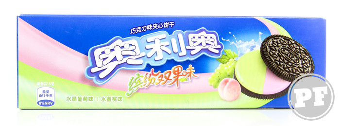 Oreo de Uva Verde e Pêssego da China por PratoFundo