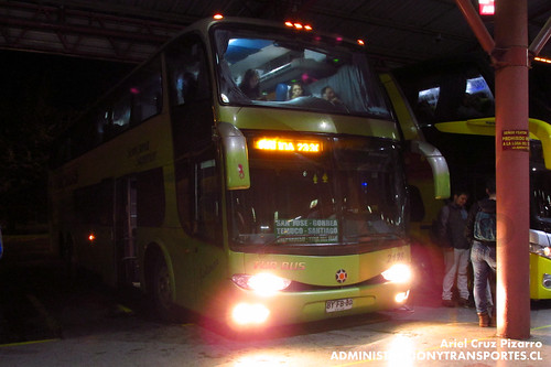 Tur Bus - Temuco - Marcopolo Paradiso 1800 DD / Mercedes Benz (BYFB80)