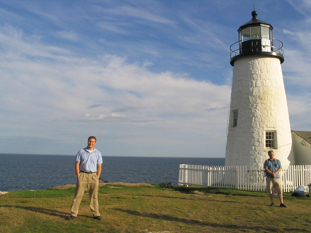 Ken Pemaquid Point Light Bristol Maine  The Pemaquid Poi  Flickr
