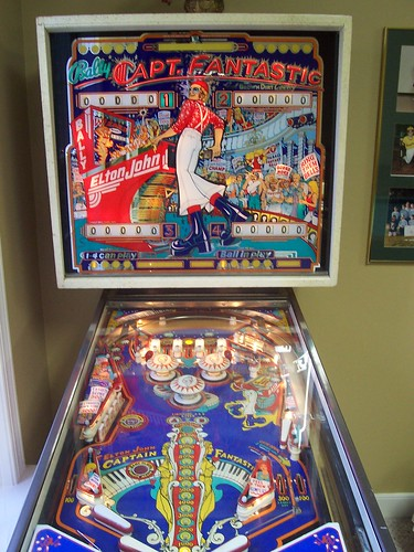 Capt Fantastic pinball machine  My inlaws 1976 Bally