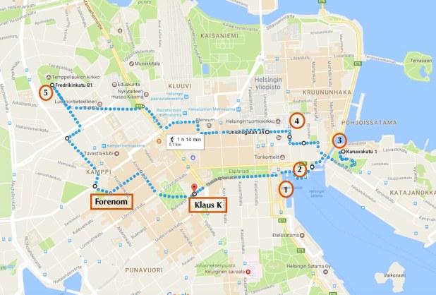 Ruta en Helsinki de 1 día