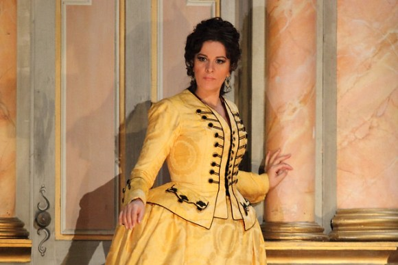 Angela Gheorghiu in Adriana Lecouvreur, The Royal Opera © ROH 2017. Photo by Catherine Ashmore