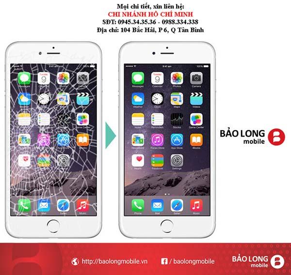Địa chỉ nào đáng tin cậy để thay màn hình iPhone 6 ở trong SG