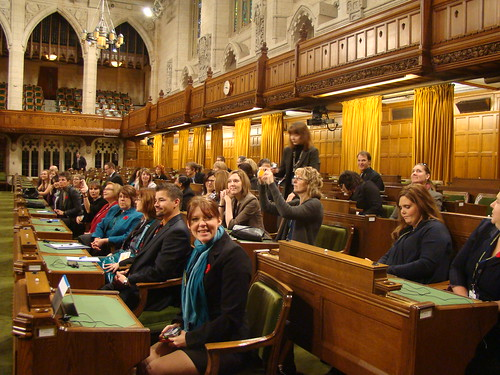 Teachers attend a session in the House of Commons Chamber  Flickr