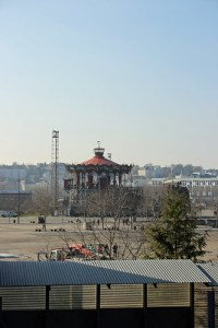 View of the Carrousel from the Heron Branch