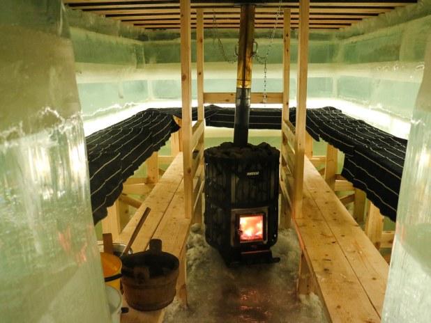 Sauna de hielo