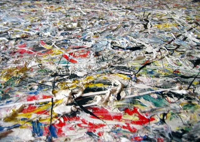 White Light Zoom  Jackson Pollock White Light 1954 Oil