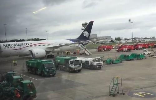 Vuelo de Aeroméxico aterriza de emergencia en Irlanda