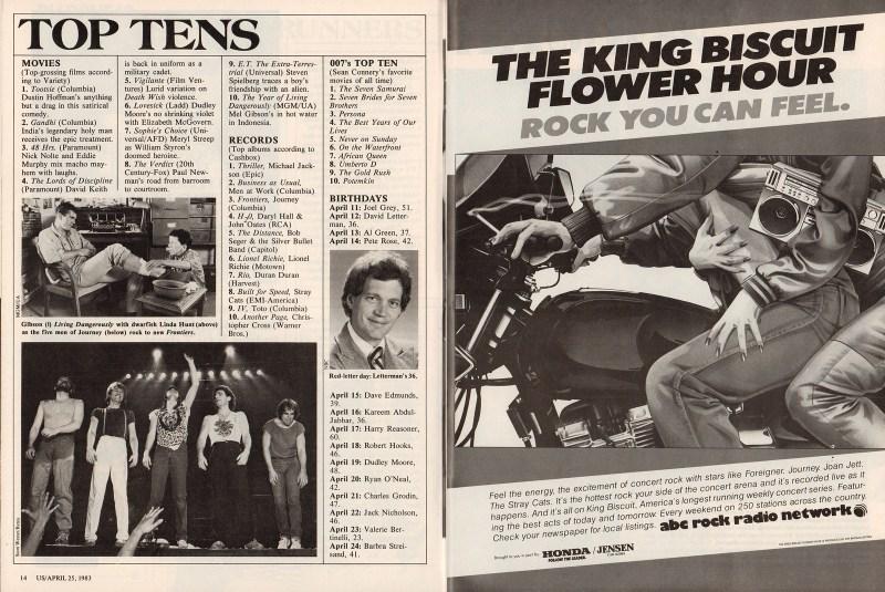 US Weekly (April 25, 1983)