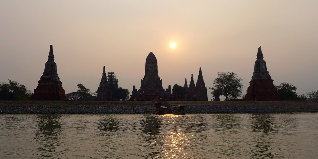Thaïlande - Ayutthaya - 150 - Wat Chaiwatthanaram