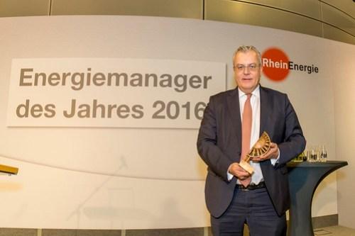 Preisverleihung Energiemanager des Jahres 2016 E&M / RheinEnergie