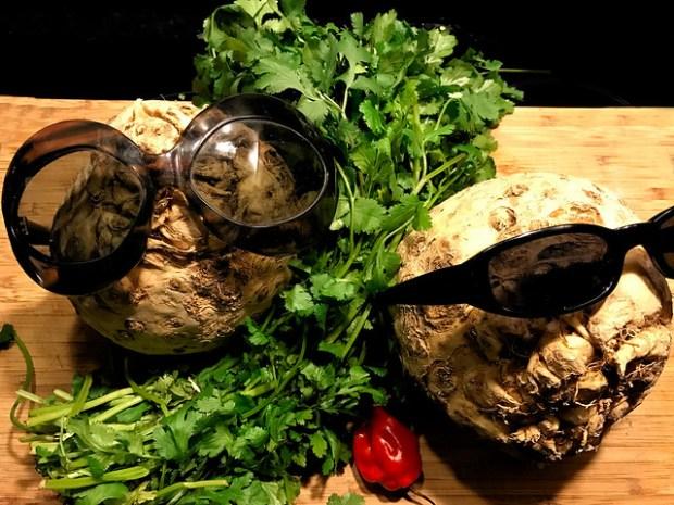 Apionabos, rocoto y cilantro buena combinación. koketo