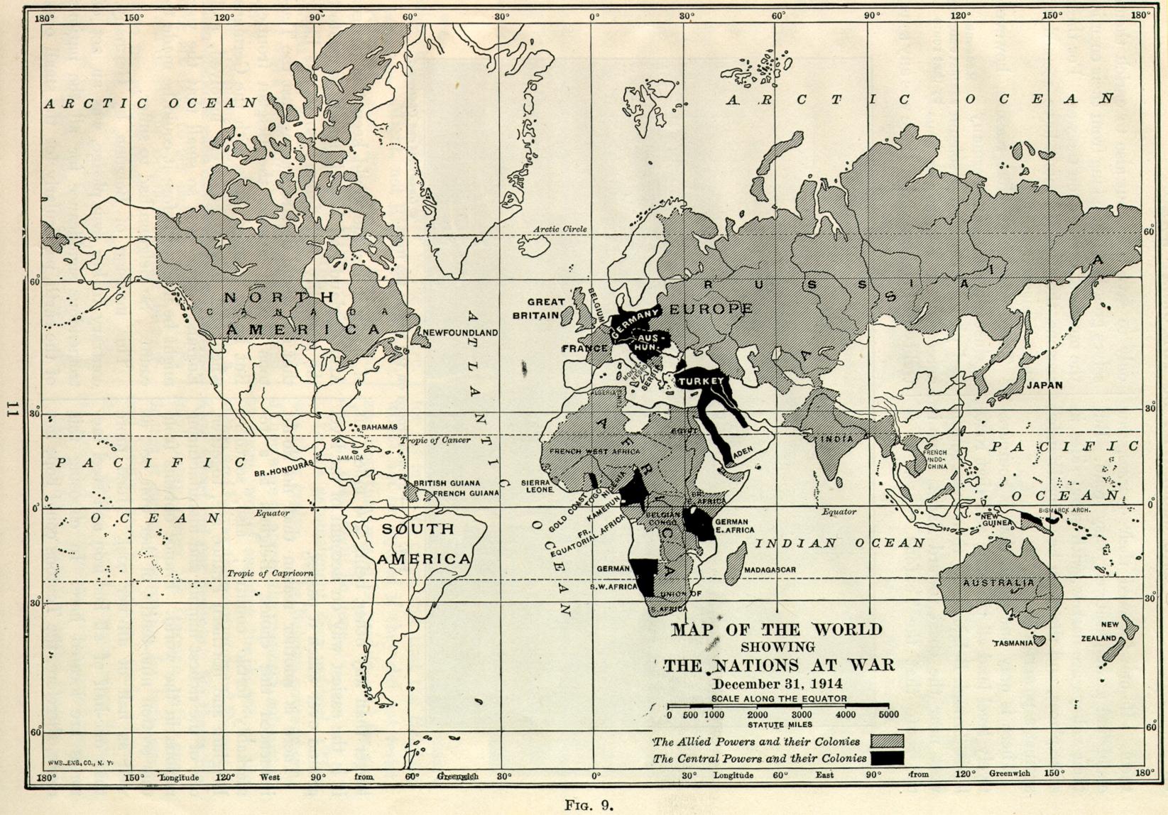The World At War X Map