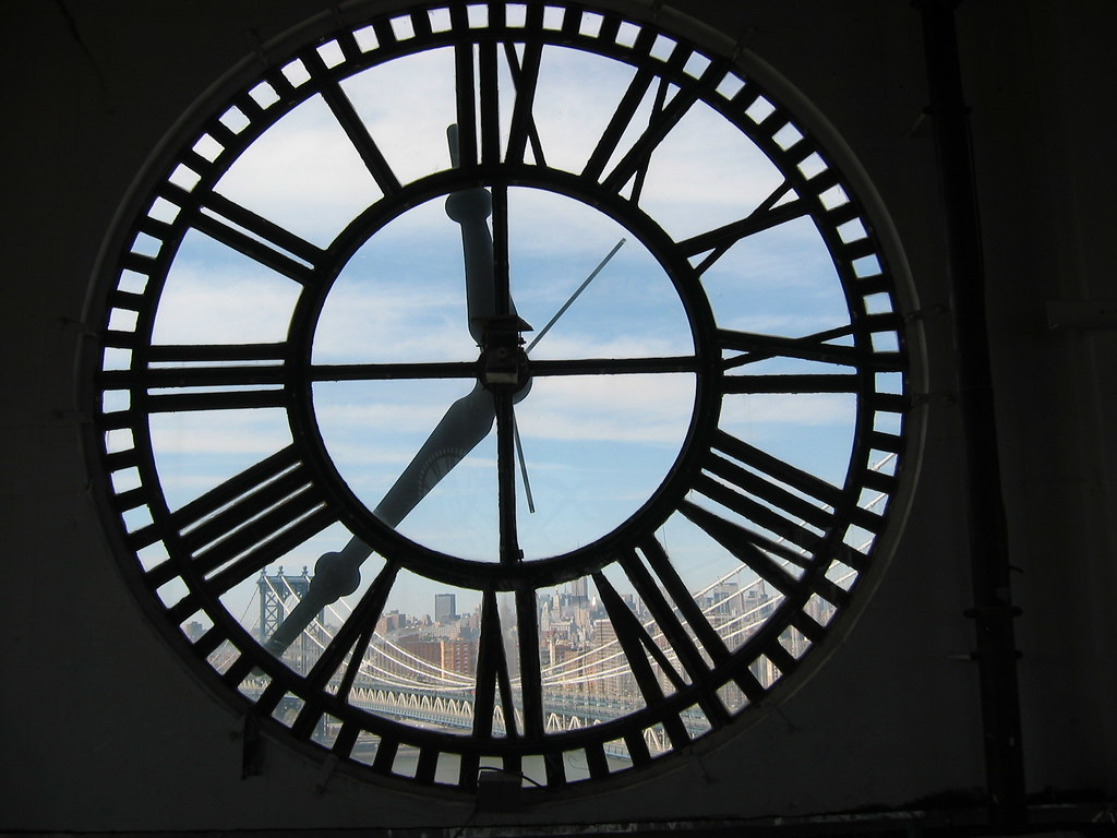 Inside DUMBO Clocktower  Looking north at the Manhatan Brid  Flickr