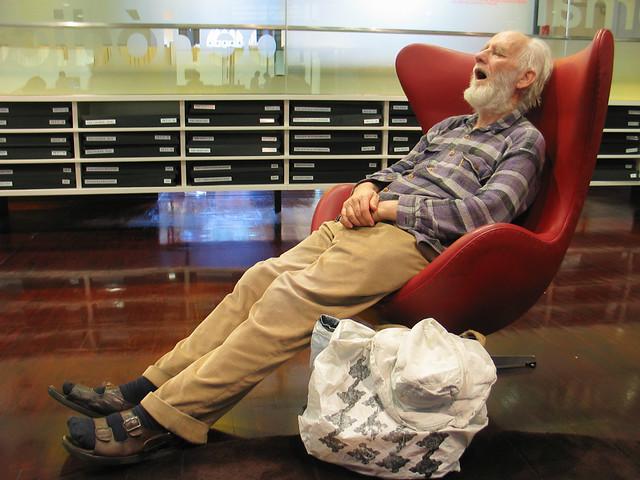 DREAMTIME2  Old Grandpa Sleeping  I swear I thought