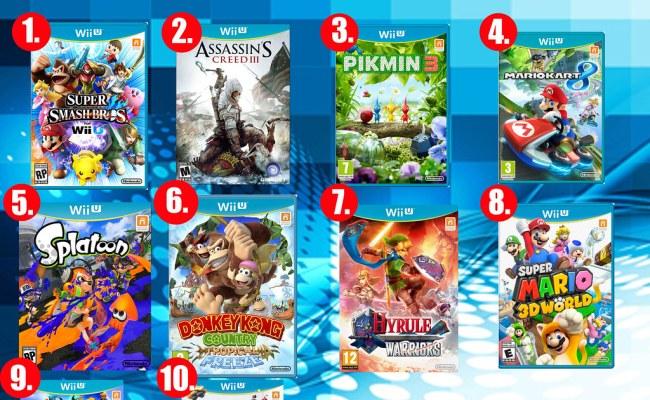 Top Ten Wii U Games Here Are My Ten Favorite Games From