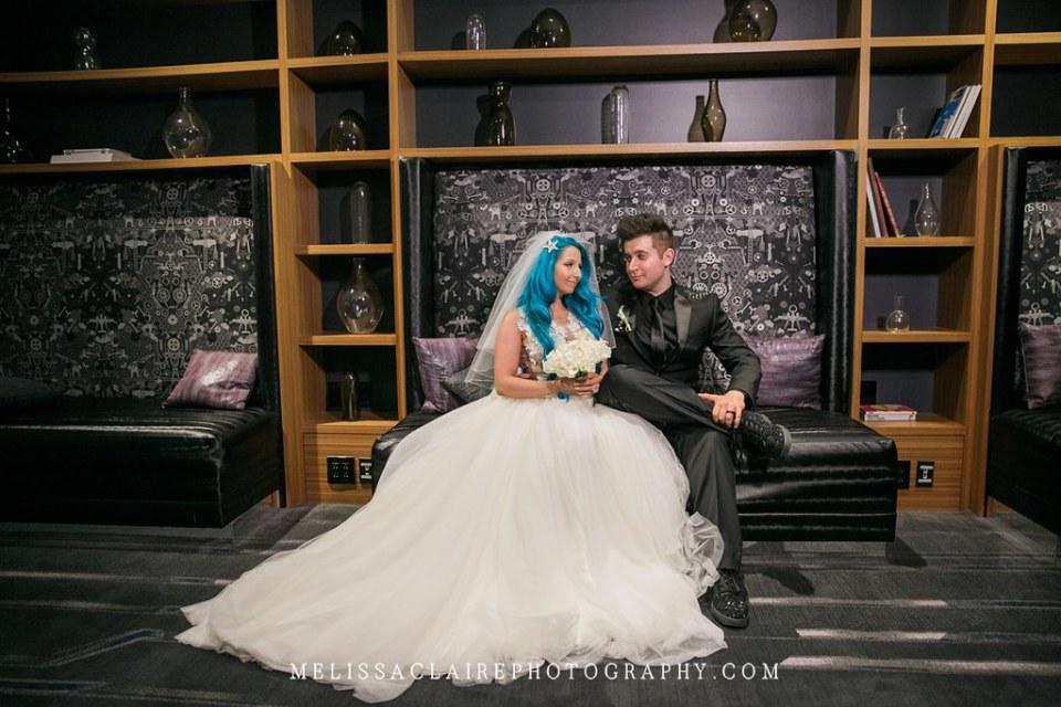 Blue Hair Bride