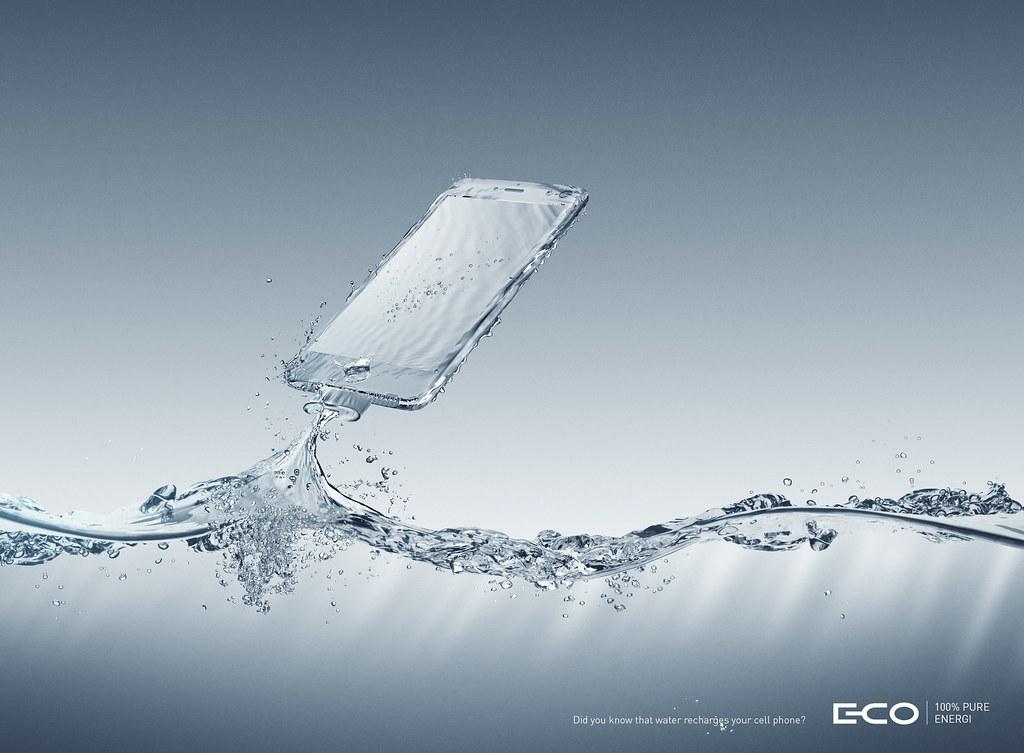 E-Co - 100% pure energy Smartphone