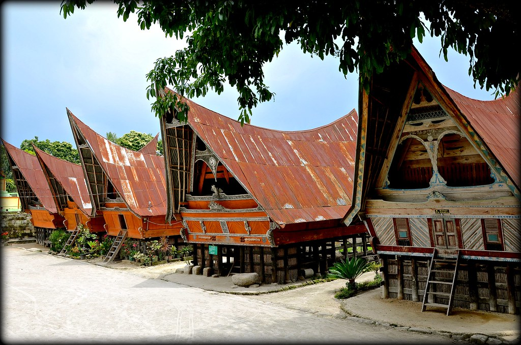 Rumah Bolon  Lake Toba  Traditional houses of Toba Batak
