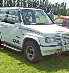 683 suzuki vitara 3 door jlx wagon 1st gen 1996 by [ 1024 x 768 Pixel ]