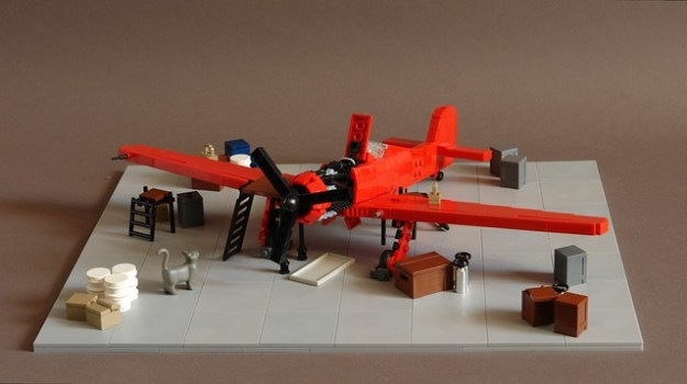 how to make a lego plane easy