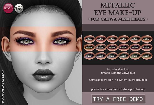 Metallic Eye Make-Up (Catwa)