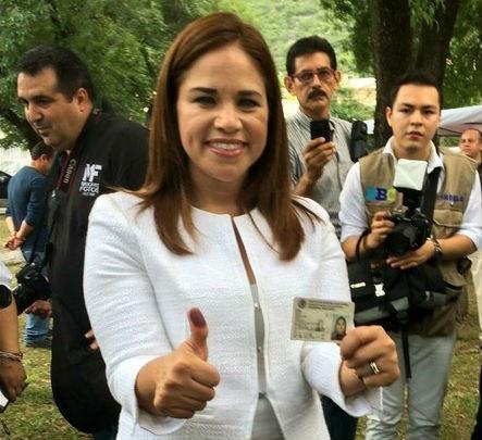 """""""Monterrey lo ganó el PRI"""", anticipa Ivonne Álvarez"""