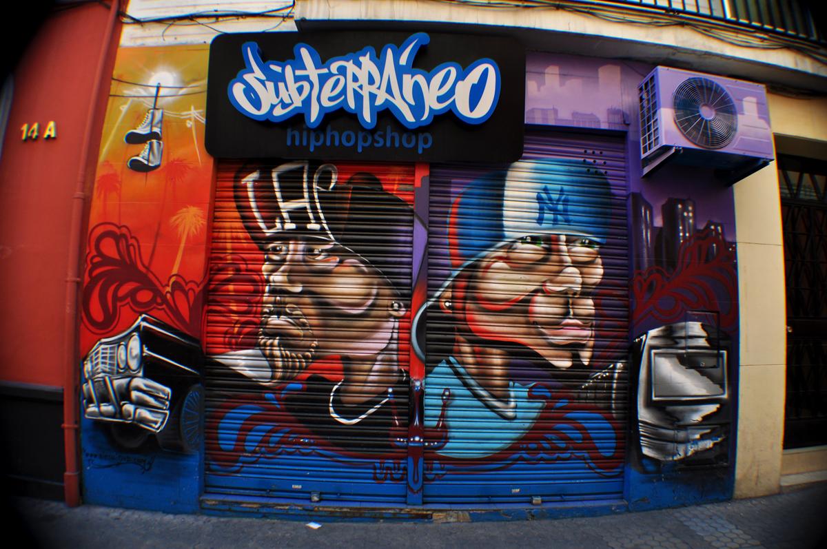 Subterraneo HiHop Shop