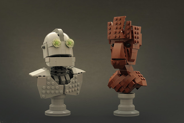 LEGO Iron Giant I am (not) Groot