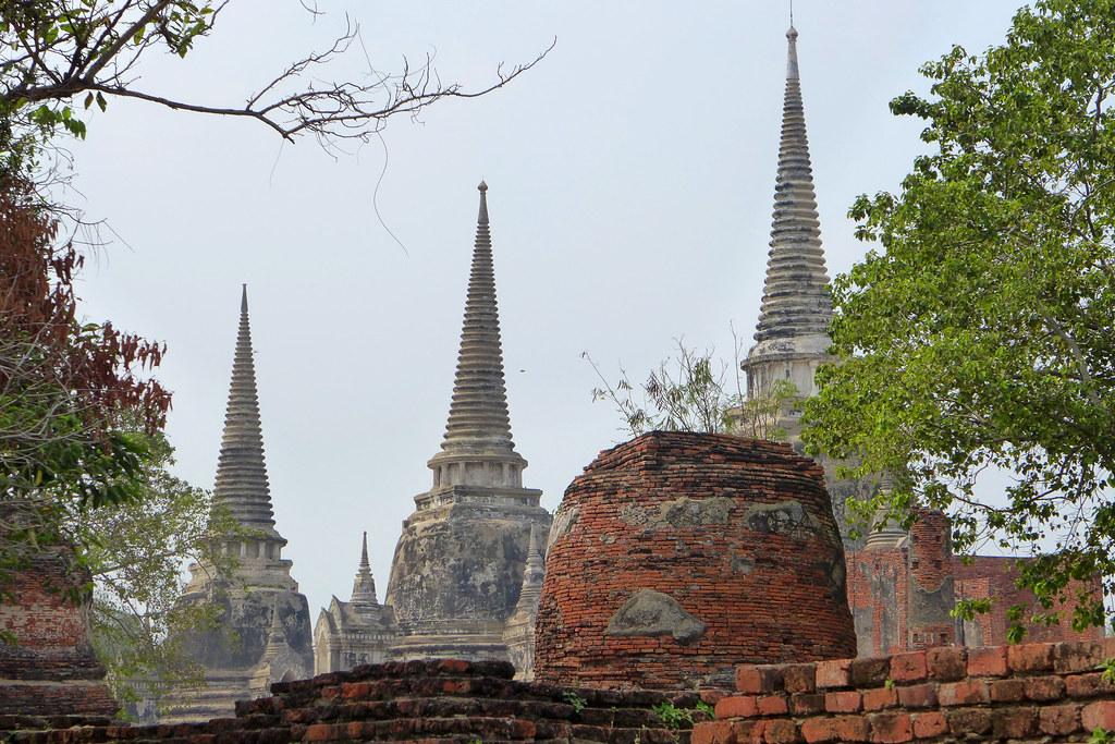 Thaïlande - Ayutthaya - 076 - Wat Phra Si Sanphet