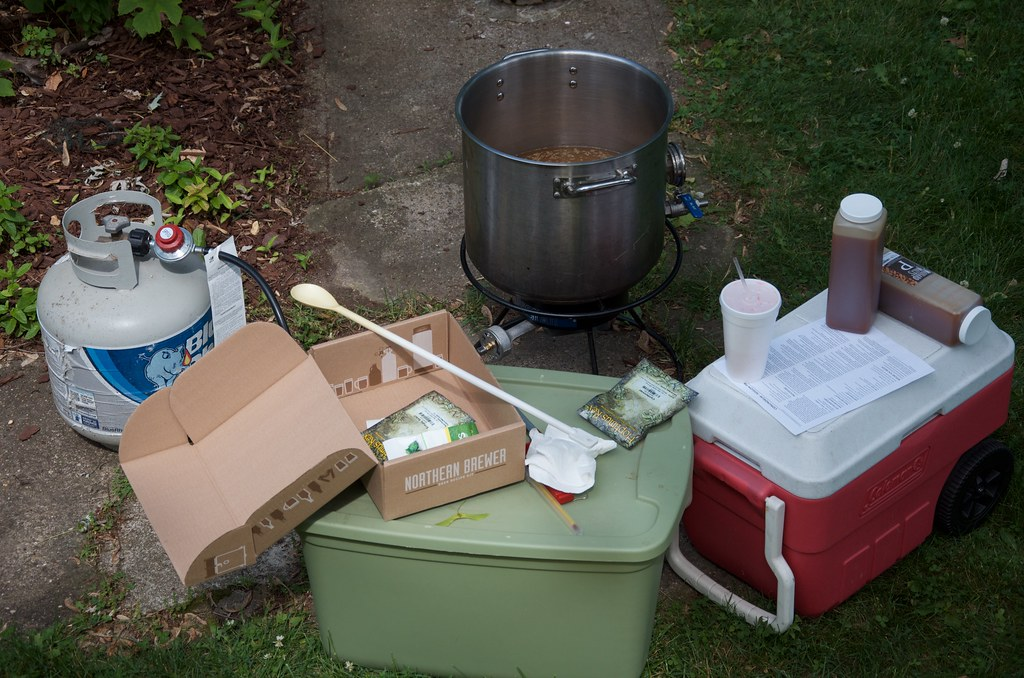 Brewing Outdoors