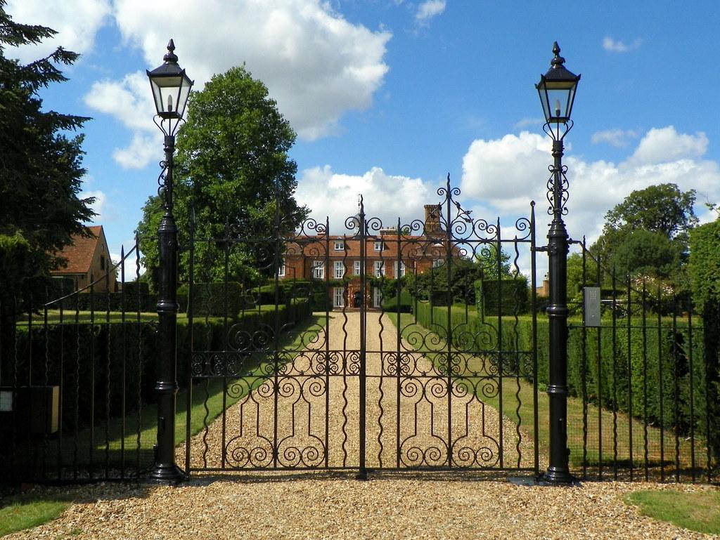 GOC Wheathampstead 075 Gate of Mackerye End House  Flickr