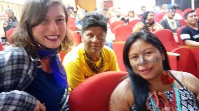 Indígena Munduruku vai desfilar na Sapucaí pela Imperatriz Leopoldinense, Alessandra Munduruku