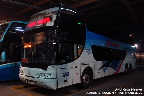 Pullman Bus (Cidher) - Puerto Montt - Youngman Skyliner (FYBW57)